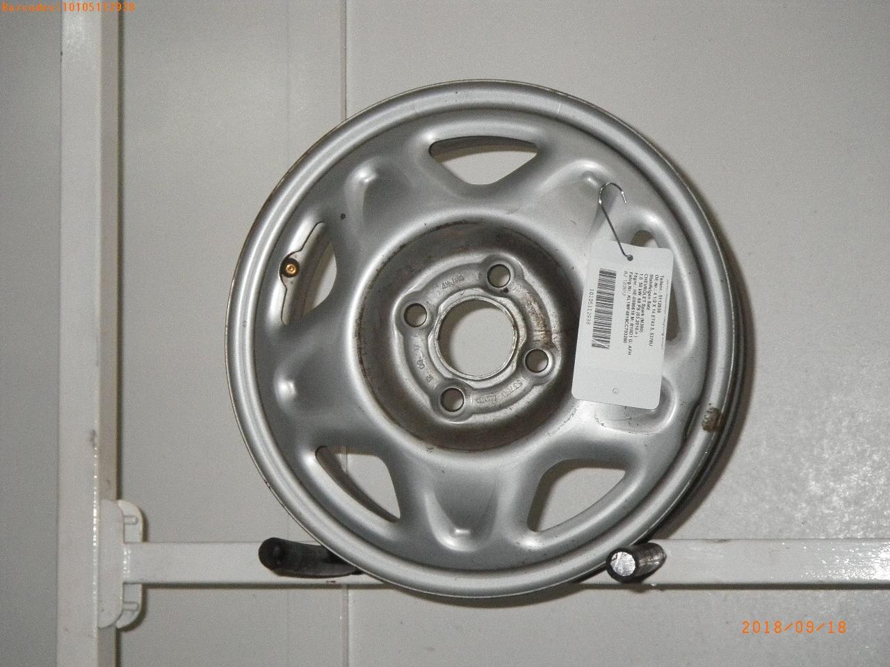 Rim Chevrolet Spark M300 1 0 4 1 2 X 14 Et43 5 Sonstige 5378u Austem B Parts