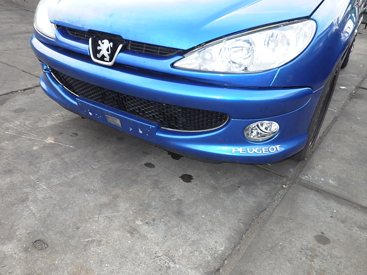 Front Bumper Peugeot 206 Hatchback 2a C 1 4 16v 7401n3 Peugeot B Parts