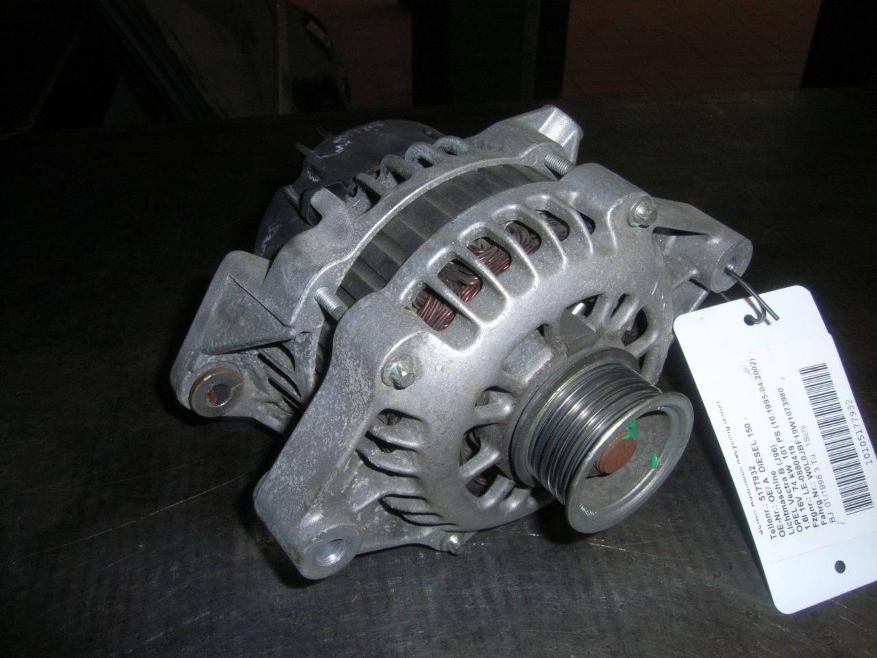 Vauxhall Vectra 1.8 2.0 Petrol  Alternator Drive Belt AIR-CON 1995-2000