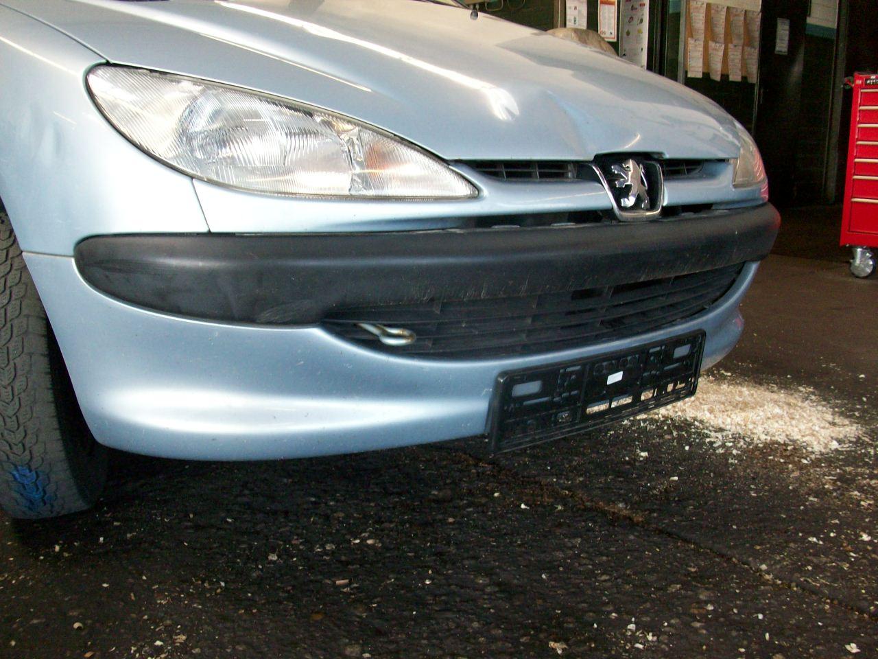 Front Bumper Peugeot 206 Hatchback 2a C 1 1 I B Parts