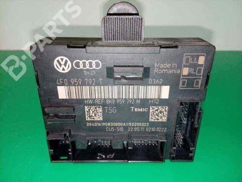4F0959792T | 8K0959792M | 4F0959792T | Module électronique A6 Allroad (4FH, C6) 3.0 TDI quattro (233 hp) [2006-2008]  3276632