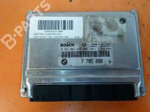 7785098 | 0281001445 | Centralina do motor 3 (E46) 320 d (150 hp) [2001-2005]  303790