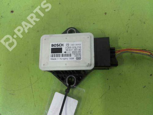 Elektronisk sensor CITROËN C4 Picasso I MPV (UD_) 1.6 HDi 9663138180 | ESP | 0265005715 | 20609723