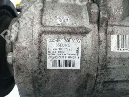 AC-Kompressor AUDI A6 (4F2, C6) 2.0 TDI 4F0260805G | 34459165