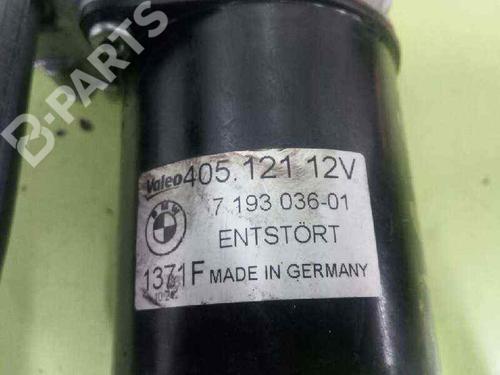 Motor limpa vidros frontal BMW 1 (E81) 116 d 7193036 | 20573326