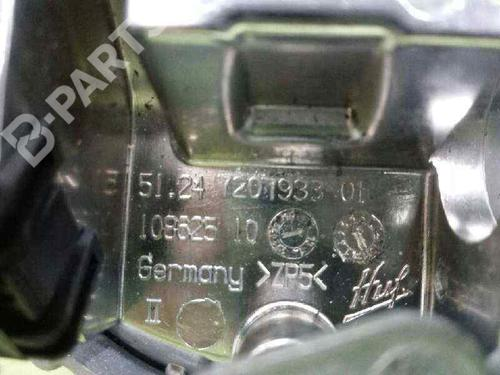 Puxador da tampa da mala BMW 1 (E81) 116 d 51247207933 | 10862510 | 20573362