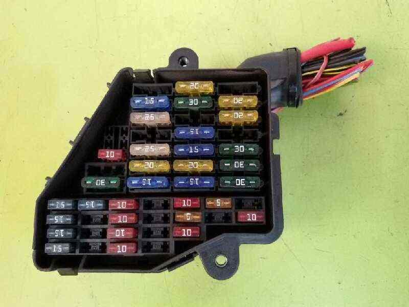 fuse box audi a4 (8e2, b6) 2.0   b-parts  b-parts
