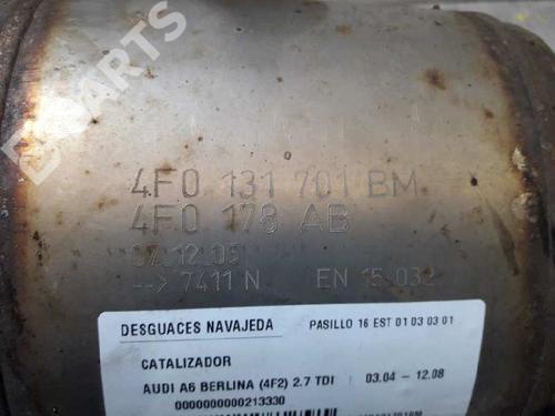 Catalizador AUDI A6 (4F2, C6) 2.7 TDI 4F0131701BM | 18248757
