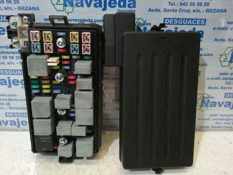 Fuse box CHEVROLET EPICA (KL1_) 2.5 96647287   96647287    102020013141024761   B-Parts   Chevrolet Epica Fuse Box      B-Parts