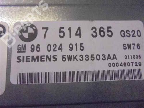 Steuergerät Automatikgetriebe BMW 5 (E39) 530 d 5WK33503AA | 33986825