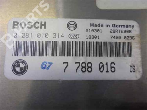 Motorstyringsenhet BMW 3 (E46) 330 d 281010314 | 33969553