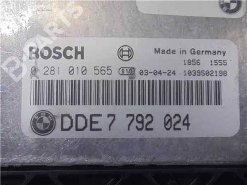 Steuergerät Motor BMW 3 (E46) 320 d 281010565 | 37836212