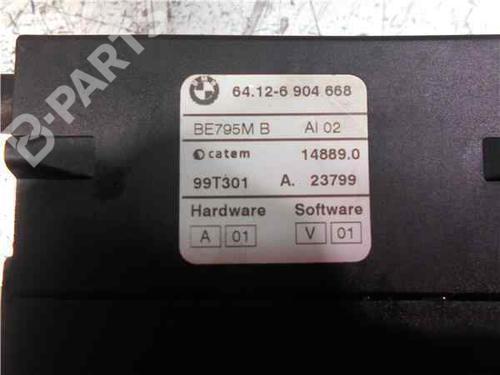 Gebläsemotor BMW 3 (E46) 320 d 64126904668 | 33994213