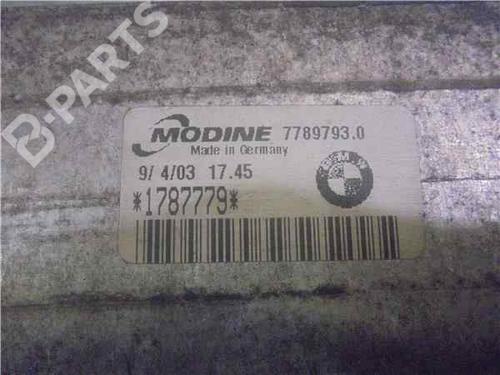 Ladeluftkühler BMW 3 (E46) 320 d 1787779 | 34014135