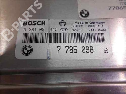Steuergerät Motor BMW 3 (E46) 320 d 7785098 | 281001445 | 38093906