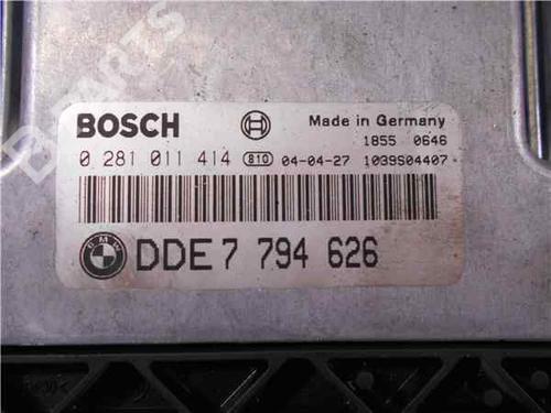 Steuergerät Motor BMW X5 (E53) 3.0 d 281011414 | 37576495