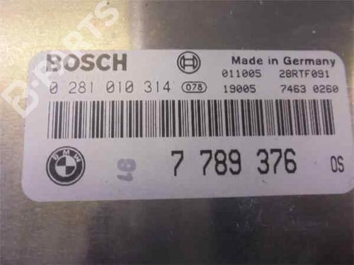 Steuergerät Motor BMW 5 (E39) 530 d 281010314   33977711