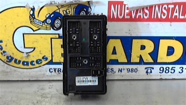Chevrolet Aveo 2011 Fuse Box