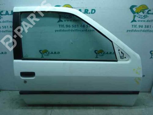 Porta Frt. Dir. 9004L8 PEUGEOT, 306 Hatchback (7A, 7C, N3, N5) 1.9 D(3 portas) (69hp) XUD9, 1993-1994-1995-1996-1997-1998-1999 165844