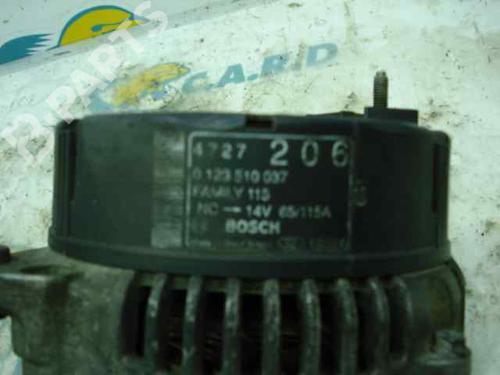 Alternador CHRYSLER VOYAGER / GRAND VOYAGER III (GS) 2.5 TD 04727206 | 0123510037 | BOSCH | 12845530
