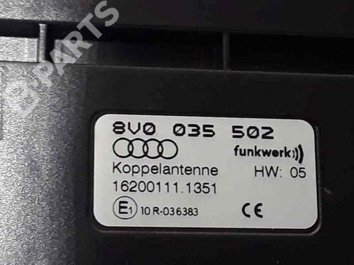 Elektronisk modul AUDI A3 Sportback (8VA, 8VF) 2.0 TDI 8V0035502 | 37094355