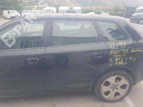 Tür links hinten A3 Sportback (8PA) 2.0 TDI 16V (140 hp) [2004-2013] BKD 7699299