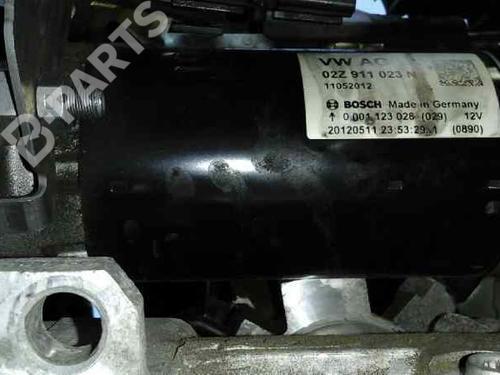 02Z911023N   0001123028   BOSCH   Démarreur OCTAVIA II (1Z3) 2.0 TDI (110 hp) [2010-2013]  4571224