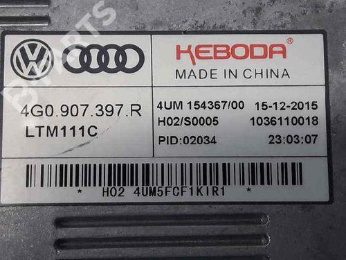 Xenon-ballast AUDI A3 Sportback (8VA, 8VF) 1.6 TDI 4G0907397R | 4G0907397R | 27594244