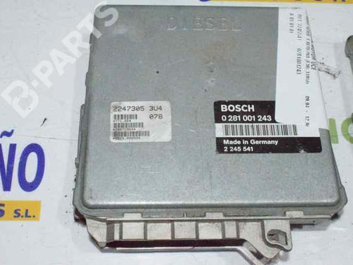 2245541 - 0281001243 | Centralina do motor 3 (E36) 318 tds (90 hp) [1995-1998]  1159136