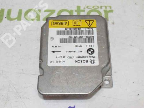6905491 | Kollisjonspute styreenhet 3 (E46) 320 d (150 hp) [2001-2005]  779235