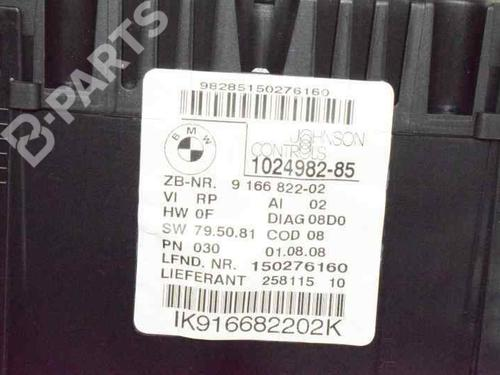 Instrumentenkombination BMW 1 (E87) 118 d 62109283802 | 9166822 | 20131828
