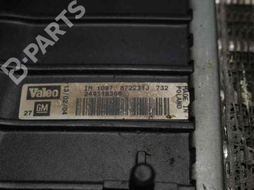 Intercooler OPEL VECTRA C GTS (Z02)  244118366   19901333