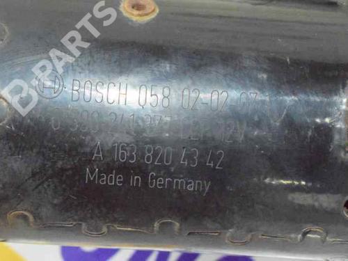 Motor limpia delantero MERCEDES-BENZ M-CLASS (W163) ML 270 CDI (163.113) 1638200241 | A1638204342 | 20199216