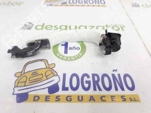 Højre bagtil udvendigt håndtag AUDI Q5 (8RB) 3.0 TDI quattro 8T0837205A   8K0839879   COLOR BLANCO, TIENE ROCES VER FOTOS   20043756