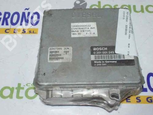 2245541 - 0281001243 | Centralina do motor 3 (E36) 318 tds (90 hp) [1995-1998]  1159143