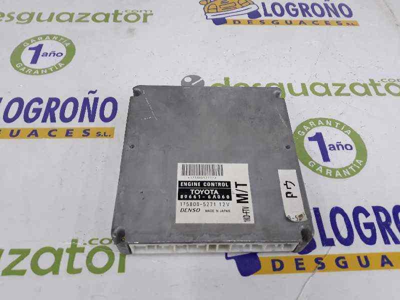 2006 TOYOTA LANDCRUISER 3.0 D4D ENGINE ECU 89661-6A060 DENSO