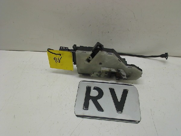2007 PEUGEOT 207cc FRONT DRIVER SIDE DOOR LOCK MECHANISM 24095158