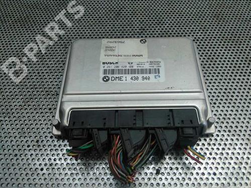 0261204420 Centralina do motor 3 (E46) 316 i (105 hp) [1998-2002] M43 B19 (194E1) 1030452