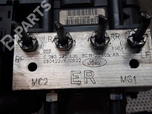 ABS Pump FORD TRANSIT Box (FA_ _) 2.4 TDCi RWD 0265235436   8C112C405AB   14184370