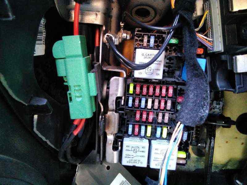 fuse box renault clio iv (bh_) 1.5 dci 75 | b-parts  b-parts