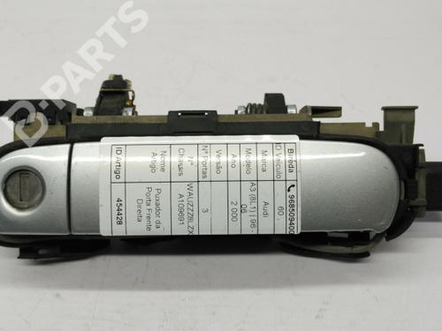 Com Canhao  Højre fortil udvendigt håndtag A3 (8L1) 1.9 TDI (110 hp) [1997-2001]  6979665