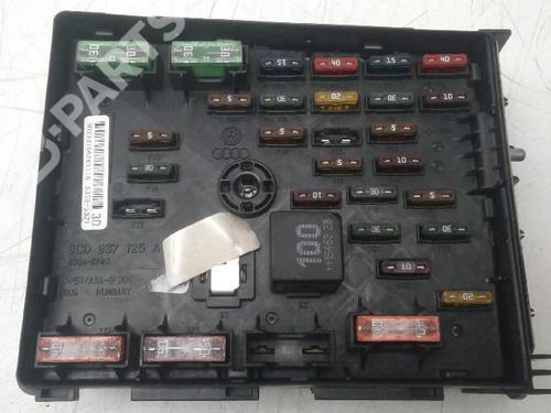AUDI: 3C0937125A Sikringsdose/Elsentral Q3 (8UB, 8UG) 2.0 TDI (150 hp) [2014-2018]  4749008