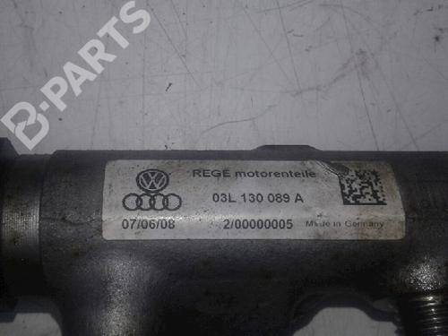 Injection Rail AUDI: 03L130089A , 057130764H AUDI, A4 (8K2, B8) 2.0 TDI(4 doors) (143hp), 2007-2008-2009-2010-2011-2012-2013-2014-2015 29638136