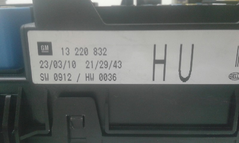 Fuse Box How To Remove Fuse Box Astra H on