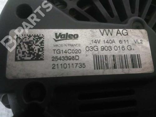 Alternator TG14C020 AUDI, A4 Avant (8K5, B8) 2.0 TDI(4 doors) (143hp) CAGA, 2008-2009-2010-2011-2012-2013-2014-2015 14426335