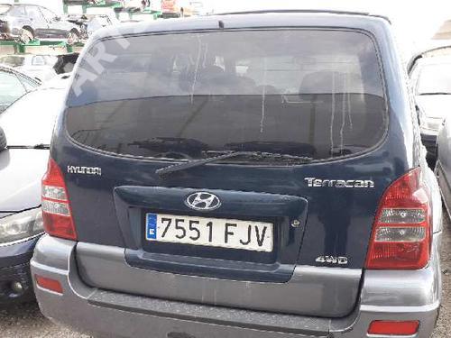Tampa da Mala TERRACAN (HP) 2.9 CRDi (150 hp) [2001-2003] J3 2984570