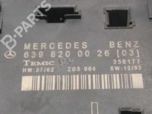 Modulo electronico MERCEDES-BENZ VITO / MIXTO Van (W639) 111 CDI (639.601, 639.603, 639.605) 6398200026 3897913