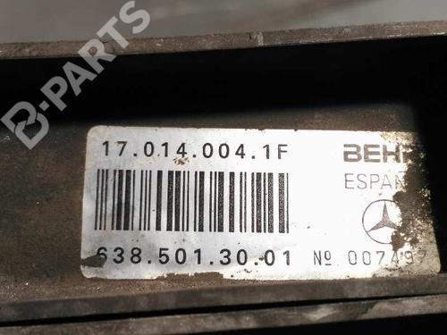 Radiador agua MERCEDES-BENZ VITO Van (638) 112 CDI 2.2 (638.094) 6385013001 3903112