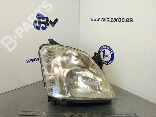 Lyskaster høyre MERIVA A MPV (X03) 1.7 CDTI (E75) (100 hp) [2003-2010] Z 17 DTH 1502051