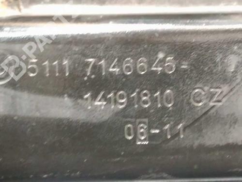 Reforço do pára-choques frente BMW 3 Touring (E91) 320 d 51117146645 8821191